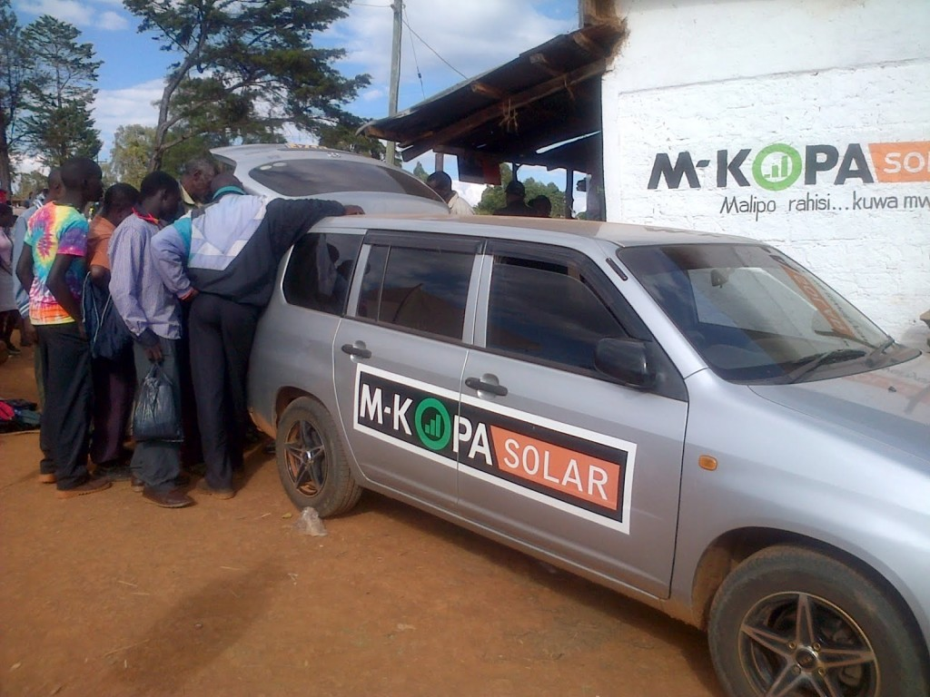 M-KOPA has created an ingenious solution to bring solar panel financing to Africa.