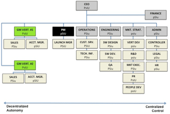 Figure 45. Structure done right. Can you tell how to scale this company?