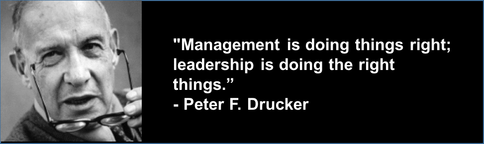 management and leadership complement one another Document or die - engineering information management resource management site supervision of contract manufacturing and installation.